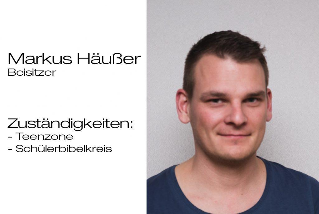 Beisitzer Markus Häußer