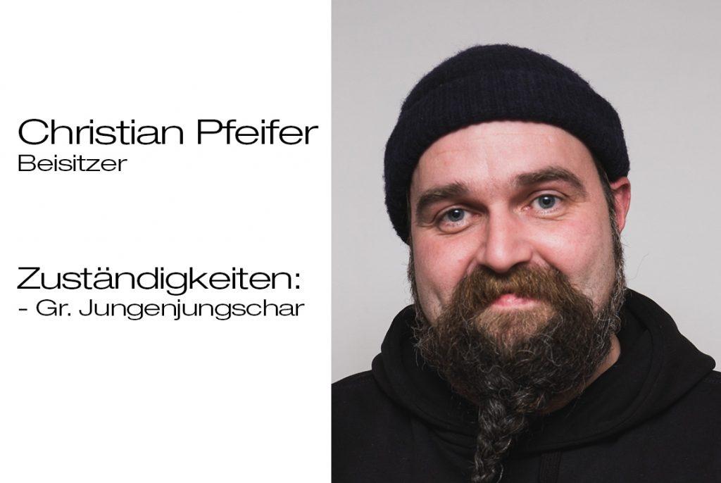 Beisitzer Christian Pfeifer
