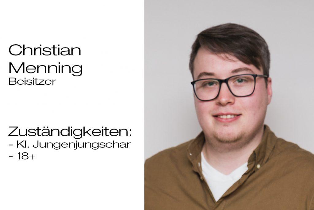 Beisitzer Christian Menning