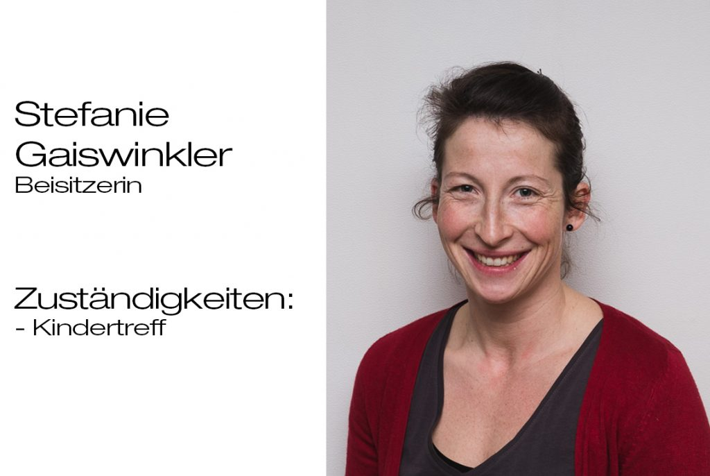 Beisitzerin Stefanie Gaiswinkler