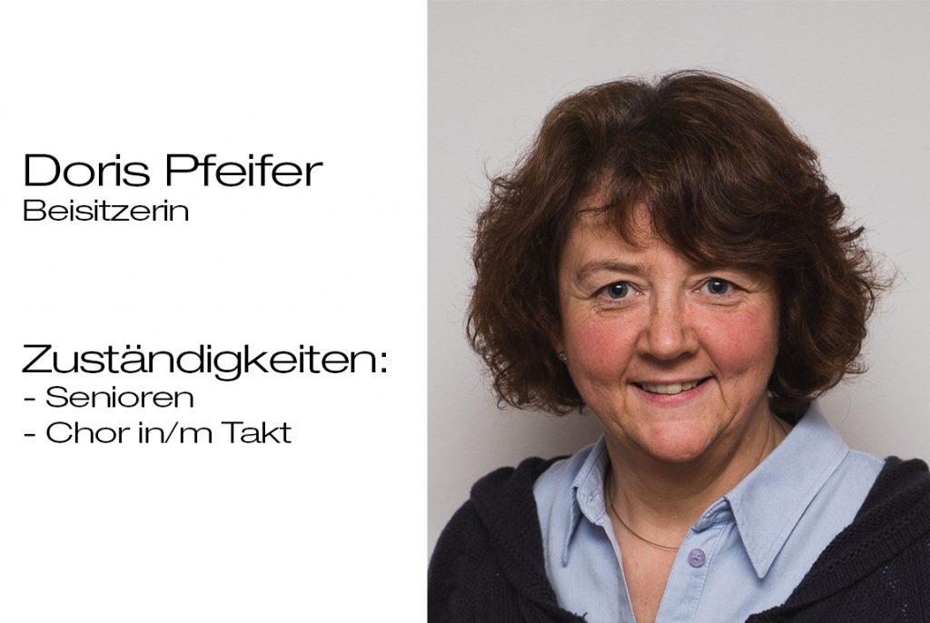 Beisitzerin Doris Pfeifer