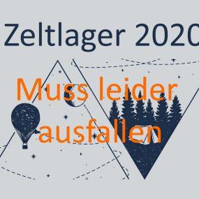 Zeltlager 2020 Absage